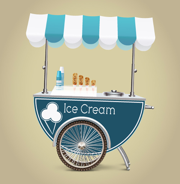 13 Create an Ice Cream Cart
