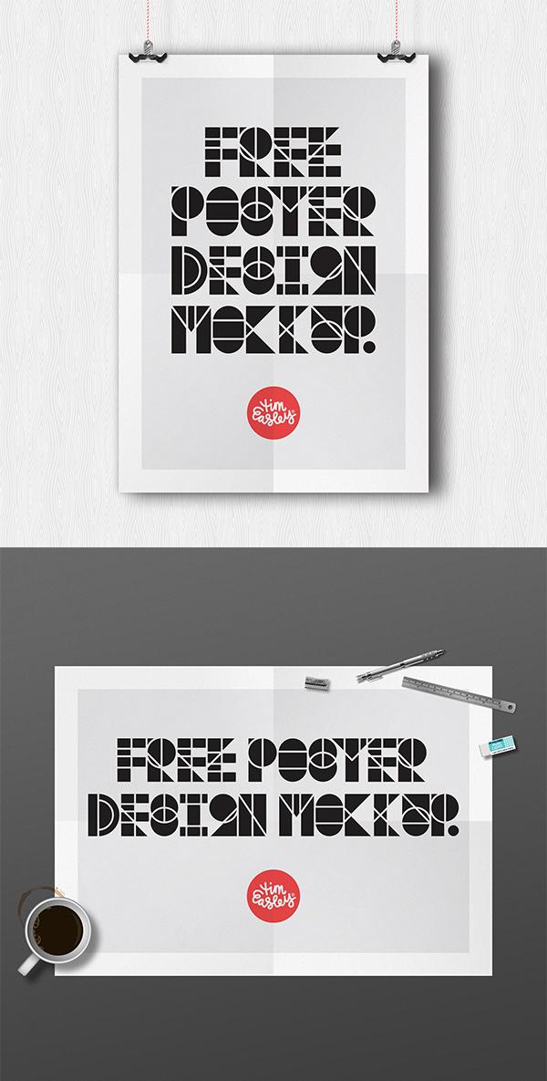 13 Free Poster Design Mockup