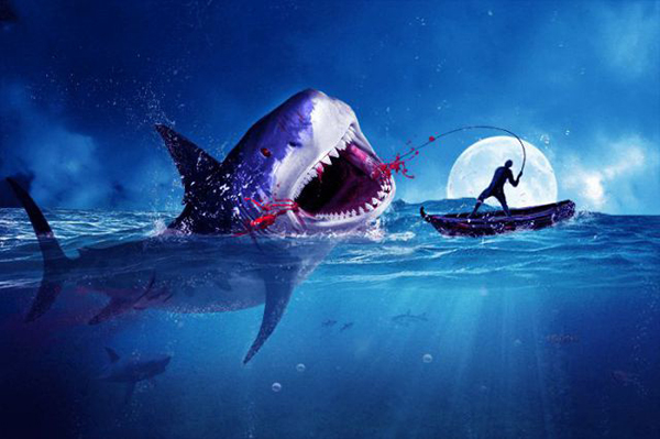 14 Amazing Surreal Shark Photoshop Tutorial You Have to Try