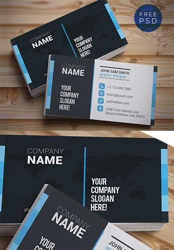 15  Clean Business Card Template