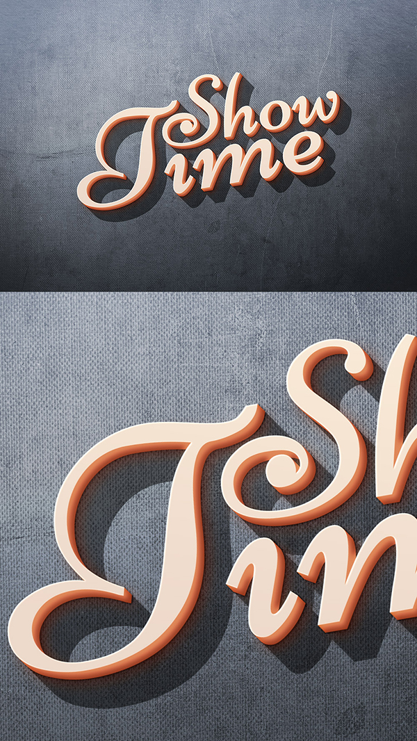 16 Free 3D Text Effect PSD
