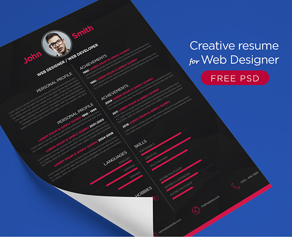 16 Free Creative Resume