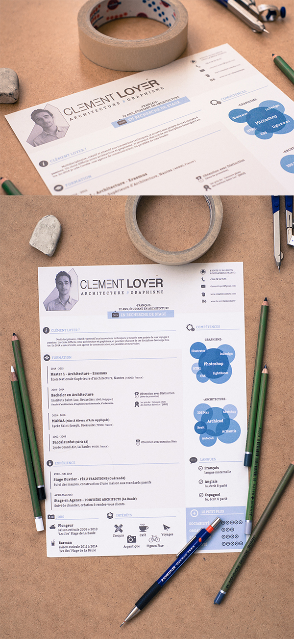 16 Freebie 2015 Resume Template