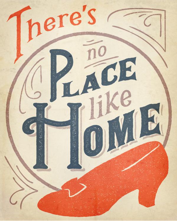 17 Vintage Typographic Illustration Poster