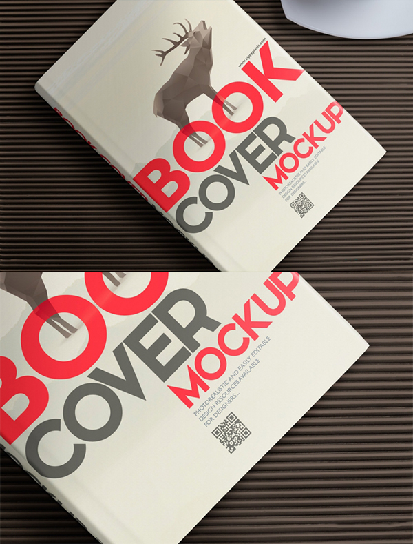 18 Hardcover Book Mockup