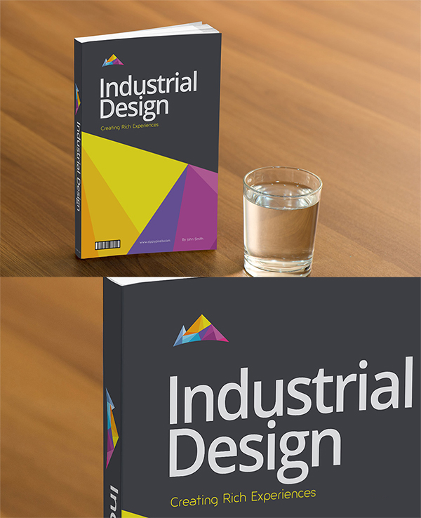 20 Free Book Cover PSD Mockup