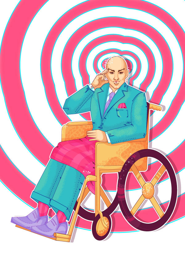 20 How to Create a Fabulous Professor X Pin-Up in Adobe Illustrator