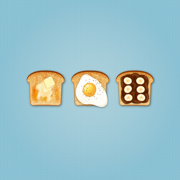 22 How to Create Delicious Toast Icons in Adobe Illustrator