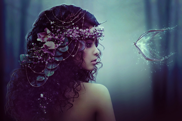 33 How to Create a Magical Fey Princess Photo Manipulation Tutorial