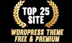 Top 25 Site: WordPress theme Free & Premium Website List #02