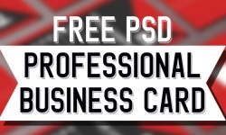 25 New Professional Business Card Free PSD Templates