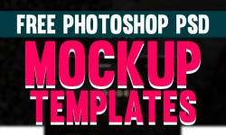 28 Free Photoshop PSD Mockup Templates 2016
