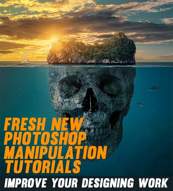23 Fresh New Photoshop Manipulation Tutorials To Improve