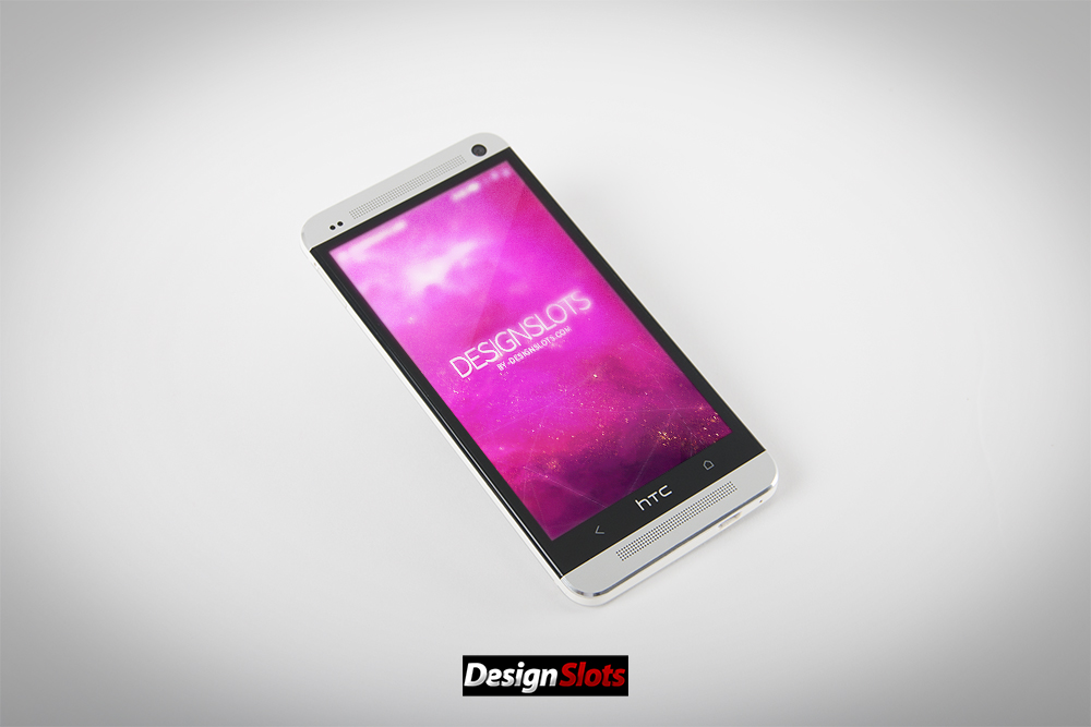 HTC one m7 Mobile Mockup 01