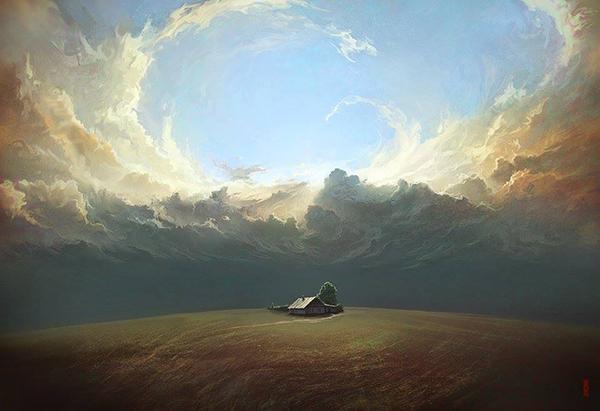 Surreal Digital Painting 42