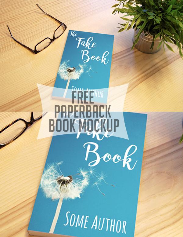 06 Free Paperback Book Mockup