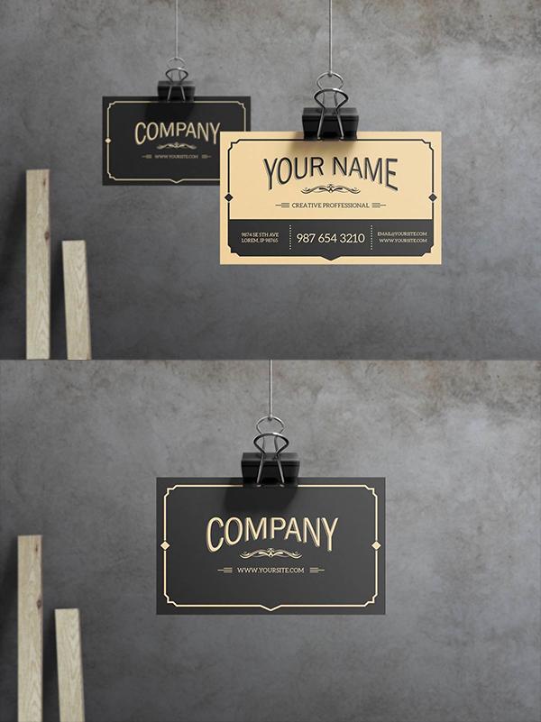 27 Yukon - Business Card