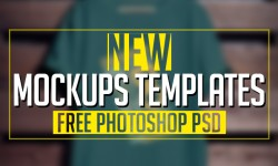 New Free Photoshop PSD Mockups Templates