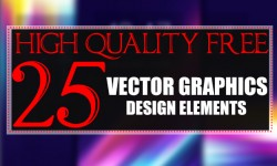 25 Free Vector Graphics Design Elements