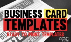 Vintage Business card Design : 30 Ready to Print Templates