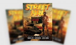 Free Street Fire Flyer Template
