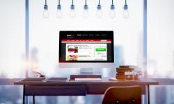iMac Screen website Free MockUp