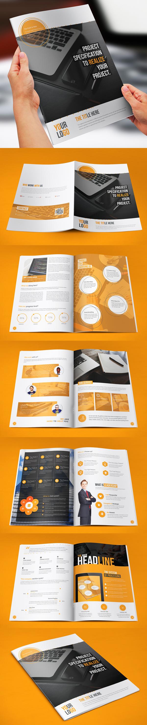 001 brochure design