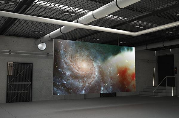 01 Indoor Billboard Mockup