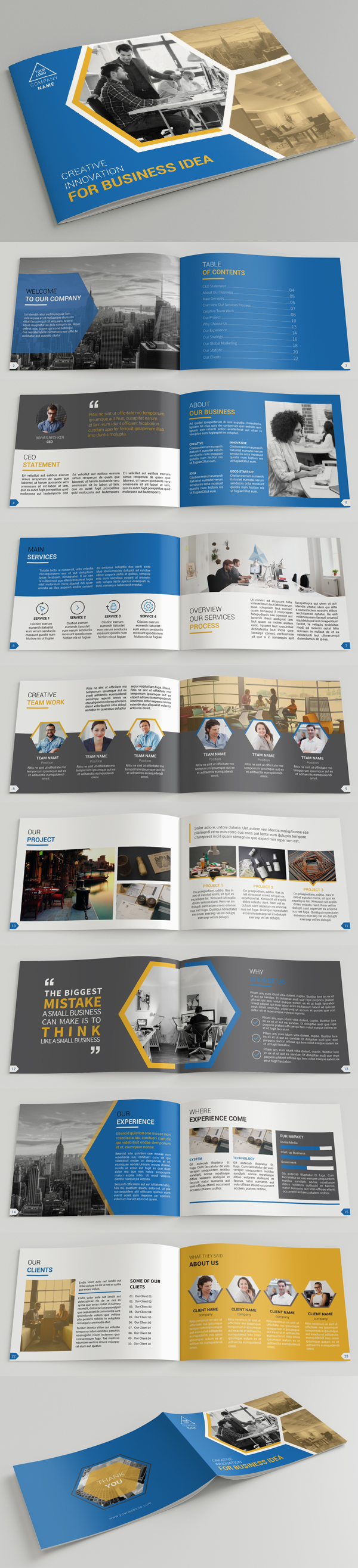 011 brochure design