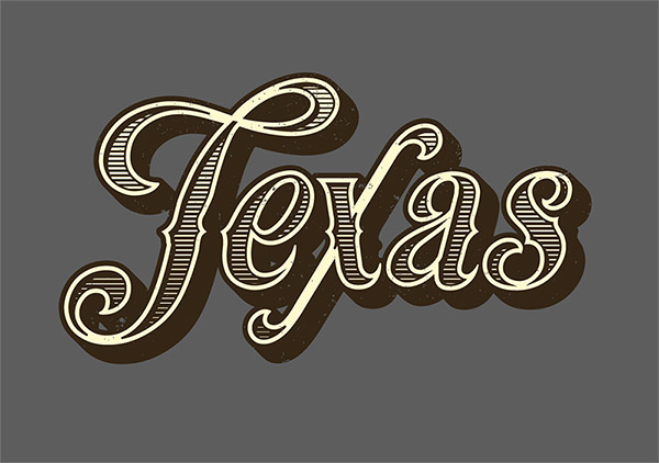 07 How To Create a Vintage Text Effect in Illustrator