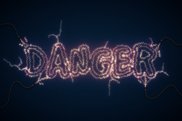 12 Create an Electric Text Effect in Illustrator