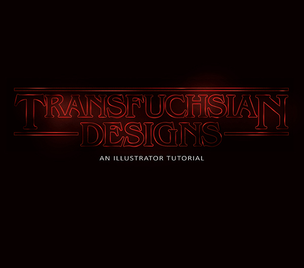 18 How to recreate the Stranger Things text effect in Illustrator