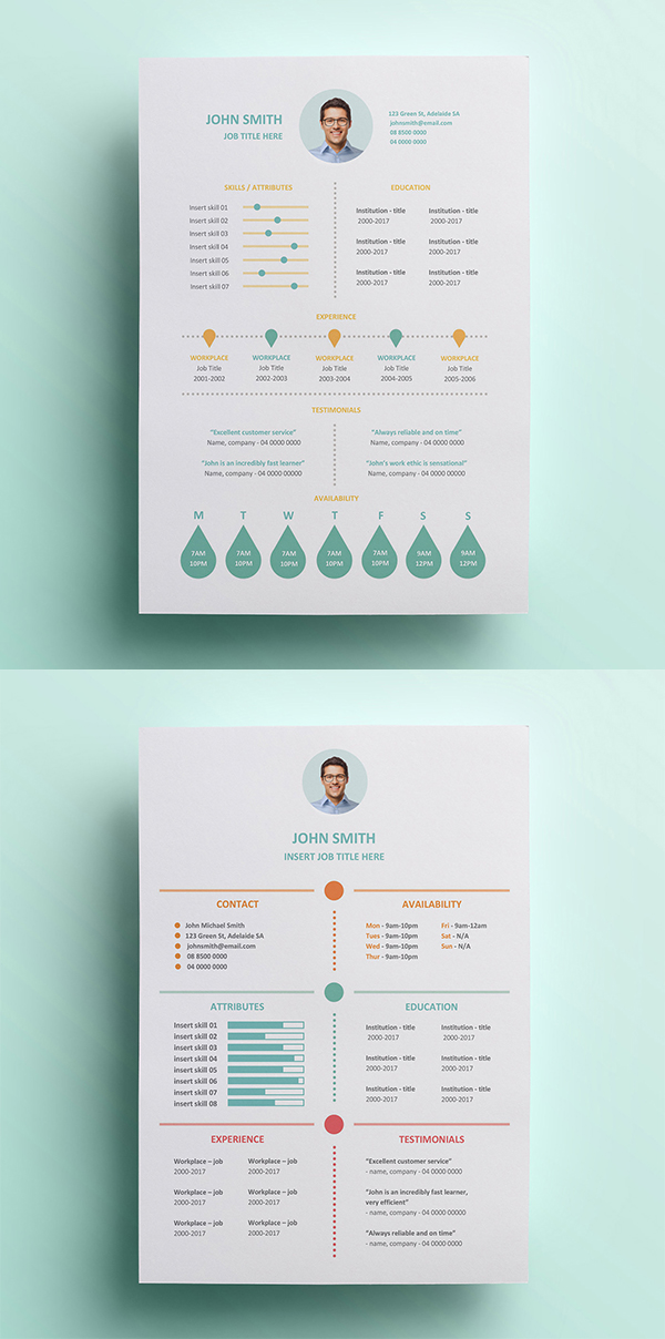 Resume Template Designs