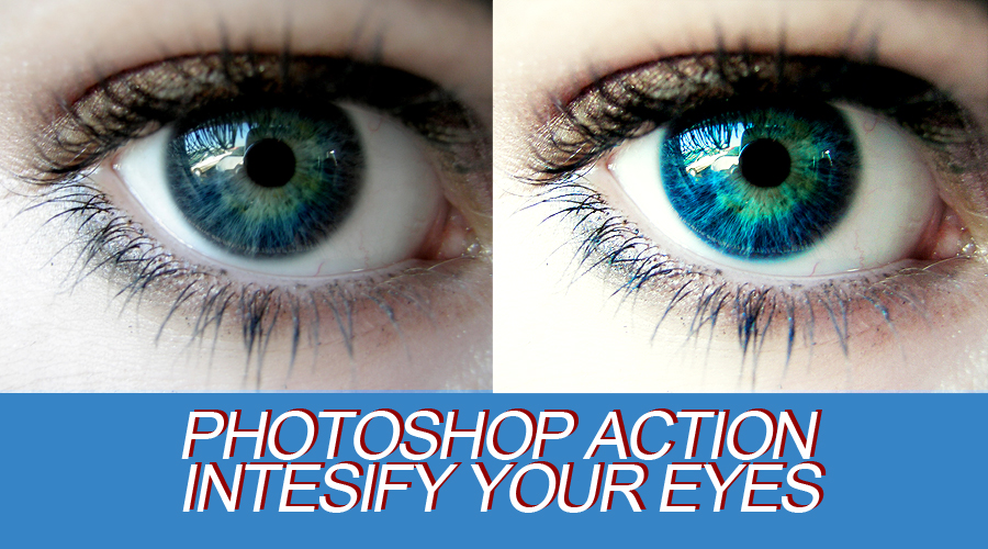 Bright Eyes Photoshop Action