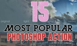 15 Most Popular Free Photoshop Action