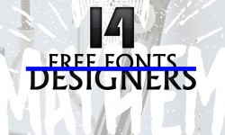 14 New Amazing Free Fonts for Designers