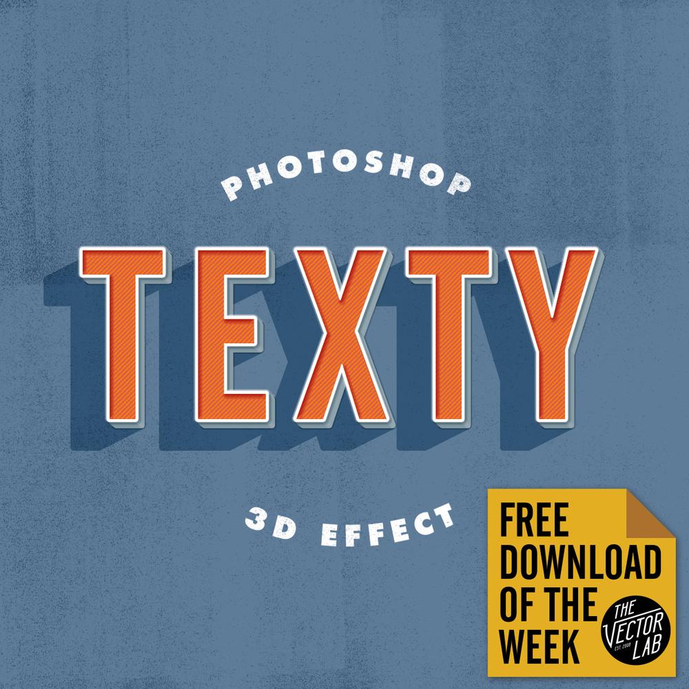 Dimensional Photoshop Text & Logo Effect