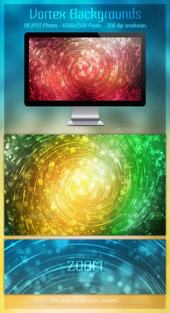Vortex Backgrounds