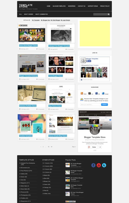 bloggertemplatestore