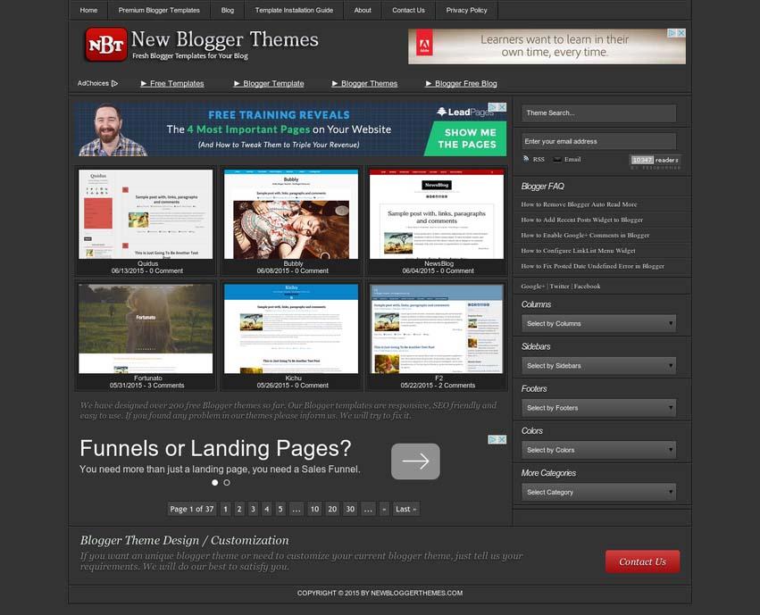 newbloggerthemes