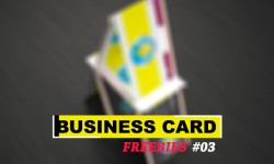 Free Creative Business Card PSD Tempaltes
