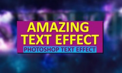 30+ Amazing Photoshop Text Effect Tutorials