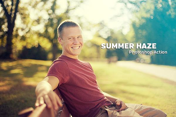 Handsome Teenage Boy in Park