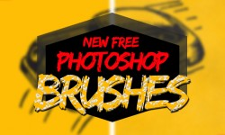 New Free Photoshop Brushes For Designers