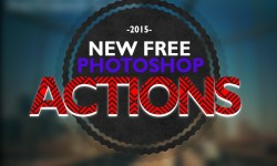 New Free Photoshop Actions For Designers