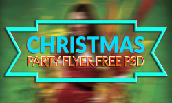 15 Best Christmas Party Flyer Free PSD