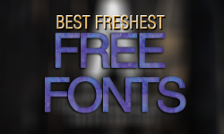 30 Best Freshest Free Fonts for Designers