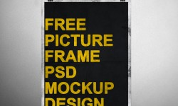 30 New Free Poster PSD Mockup Templates for Designers