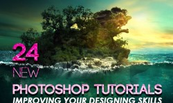 24 New Photoshop Tutorials to Improving Your Designing Skills