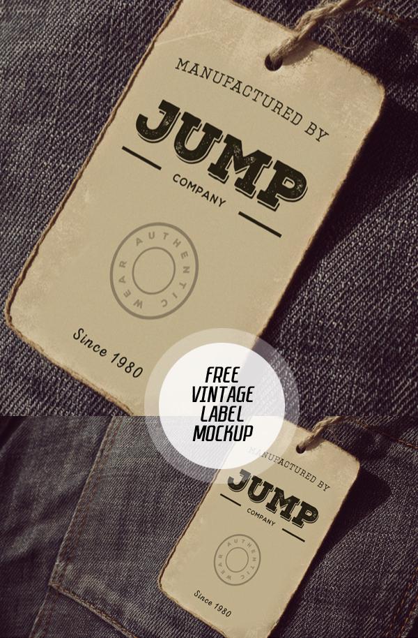 08_Clothing Label Mockup PSD